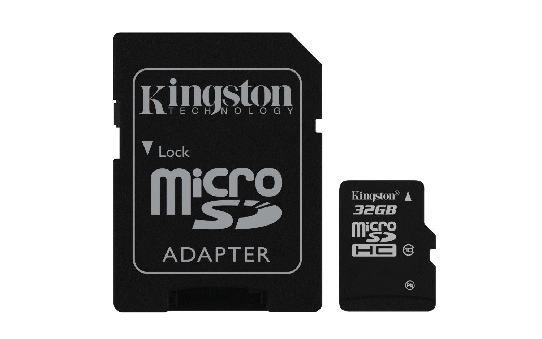 32GB microSDHC Class 10 Flash Card